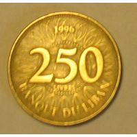 250 ливров 1996 Ливан