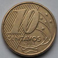 Бразилия, 10 сентаво 2004 г.