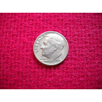 США 10 центов ( дайм ) 1971 г. D