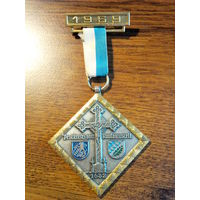 Медаль Памятная Германия 1969