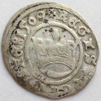Польша, полугрош коронный/ 1/2 Grossus (Crown) 1509 года, м.д. Краков/ Cracow, Kopicki 410