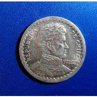 Чили 1 песо 1956 г. Продажа коллекции. С 1 рубля.