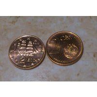 2 евроцента Греция 2008,2014