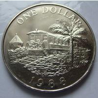 Бермудские 1 доллар 1988 г
