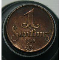 1 сантим 1935