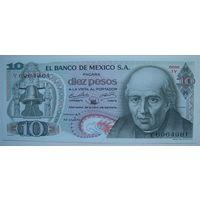 Мексика 10 песо 1970 г. (g)
