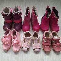 Продам для девочки обувь на 24-26р-р.