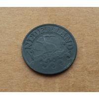 Нидерланды (нацистская оккупация), 25 центов 1943 г.