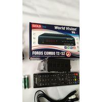 Спутниковый ресивер World Vision Foros Combo T2/S2+Wi-Fi ада...