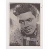 Райкин Аркадий Исаакович, фотография с автографом (ранний, 1944 г.)