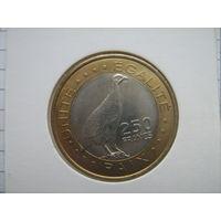 Джибути 250 франков 2012г.