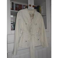 К 8 марта качественная одежда в подарок к купленной одежде . Пиджак Куртка Нарядный Yuvita Р-р 48 Цвет кремовый,приятная ткань