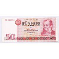 Германия, 50 марок 1971 год, серия замещения ZА