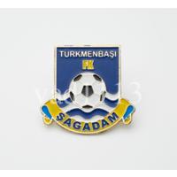 Футбол значок ФК Шагадам Туркменбаши Туркменистан