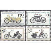Германия З.Берлин мотоцикл транспорт