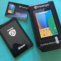 """Prestigio MultiPad WIZE 3757 7.0"""" IPS (1280x800), Android, ОЗУ 1 ГБ, флэш-память 8 ГБ, цвет черный, хорошее состояние, мелкие царапины на задней крышке, в комплекте; коробка, зарядка, гарантия 1 месяц"""