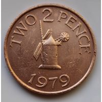 Гернси, 2 пенса 1979 г.