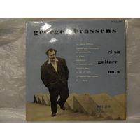 """Пластинка (10"""") - Georges Brassens - Georges Brassens no.3 - Philips, Holland - 1957 г."""