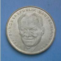 Германия 2 марки 1994 год (Вилли Брандт)