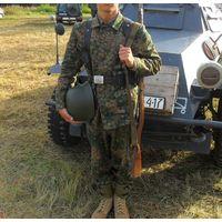 """Форма СС военная немецкая М43 DOT44(ДОТ44)""""Горох"""" (Waffen SS)(китель,брюки)"""