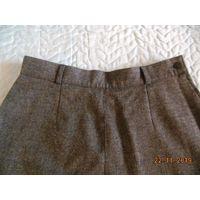Новая 100% шерстяная юбка, 46 размер