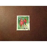 Новая Зеландия 1960 г.Клиантус.