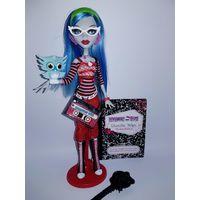 Кукла Monster High Гулия Йелпс Базовая с питомцем