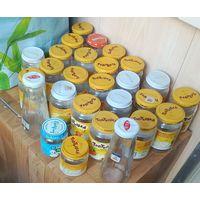 Баночки для фасовки мёда-чистые-50 штук