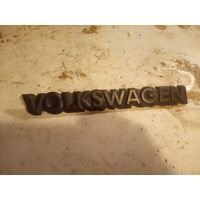 """Лот 1150. Шильдик """"Volkswagen"""" Volkswagen Golf 2, Jetta 2. Старт с 5 рублей!"""