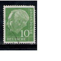 Германия ФРГ 1954-6 Т. Хойс бундеспрезидент Стандарт