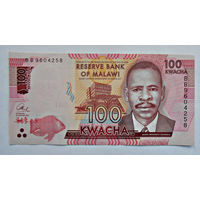 Малави, 100 квача, 2014г., UNC