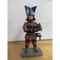 Солдатик НЕ оловянный(военно-историческая миниатюра) самурай Del prado (Дель прадо) Akita Sanesue 1576-1659
