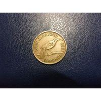Новая Зеландия 6 пенсов 1955 г.