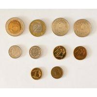 Лот монет 22 шт. Польский злотый/грош и литовский лит/цент.