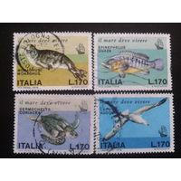 Италия 1978 фауна полная серия