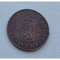 Голландская Ост-Индия 1 цент, 1929 5-12-16