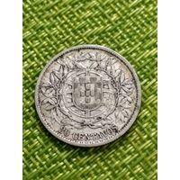 Португалия 20 сентаво 1913 г ( серебро тир 520 тыс )