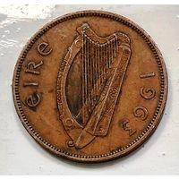 Ирландия 1 пенни, 1963 1-3-7