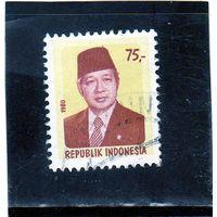 Индонезия. Mi:ID 973. Президент Сухарто. 1980.