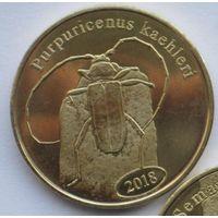 Суматра (Индонезия) 500 рупий 2018, жук