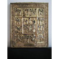 Оклад от иконы Двунадесятые Праздники