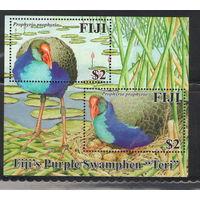 Фиджи Птицы 2006 год чистый блок