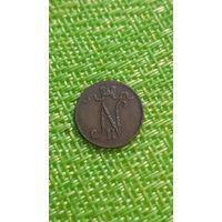 Финляндия 1 пенни 1916 г