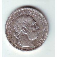 Австро-Венгрия. 1 крона 1895 г.