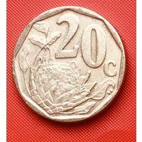 22-21 ЮАР, 20 центов 2007 г.