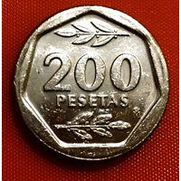 104-08 Испания, 200 песет 1988 г.