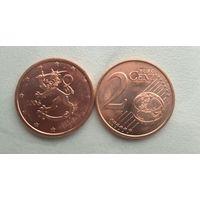 2 евроцента 2006 год Финляндия