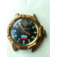 """Часы """"Командирские""""  с символикой РОССИИ"""