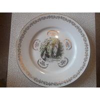 Тарелка veritable porcelaine