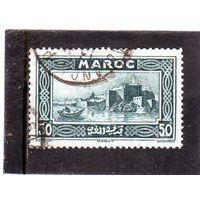 Марокко. Ми-104. Французская колония Марокко. Рабат. Серия: Памятник.1933.
